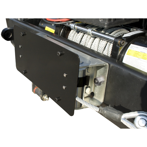 License Number Plate Mounting Bracket For Roller Fairleads