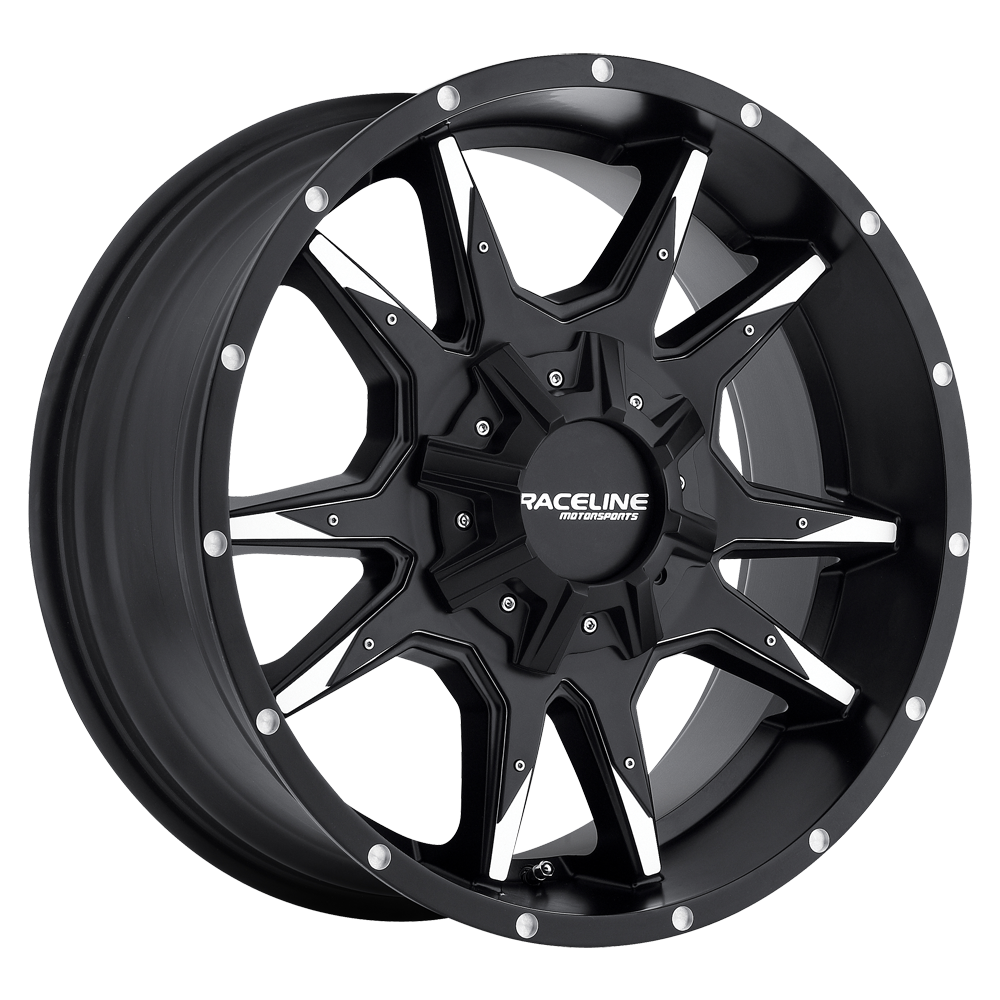 RACELINE COBRA BLACK /MACHINED