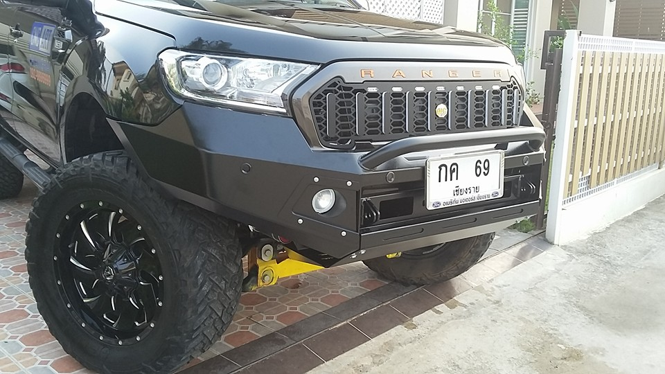 Ford Ranger Front Winch Mount Bumper Facelift 2016