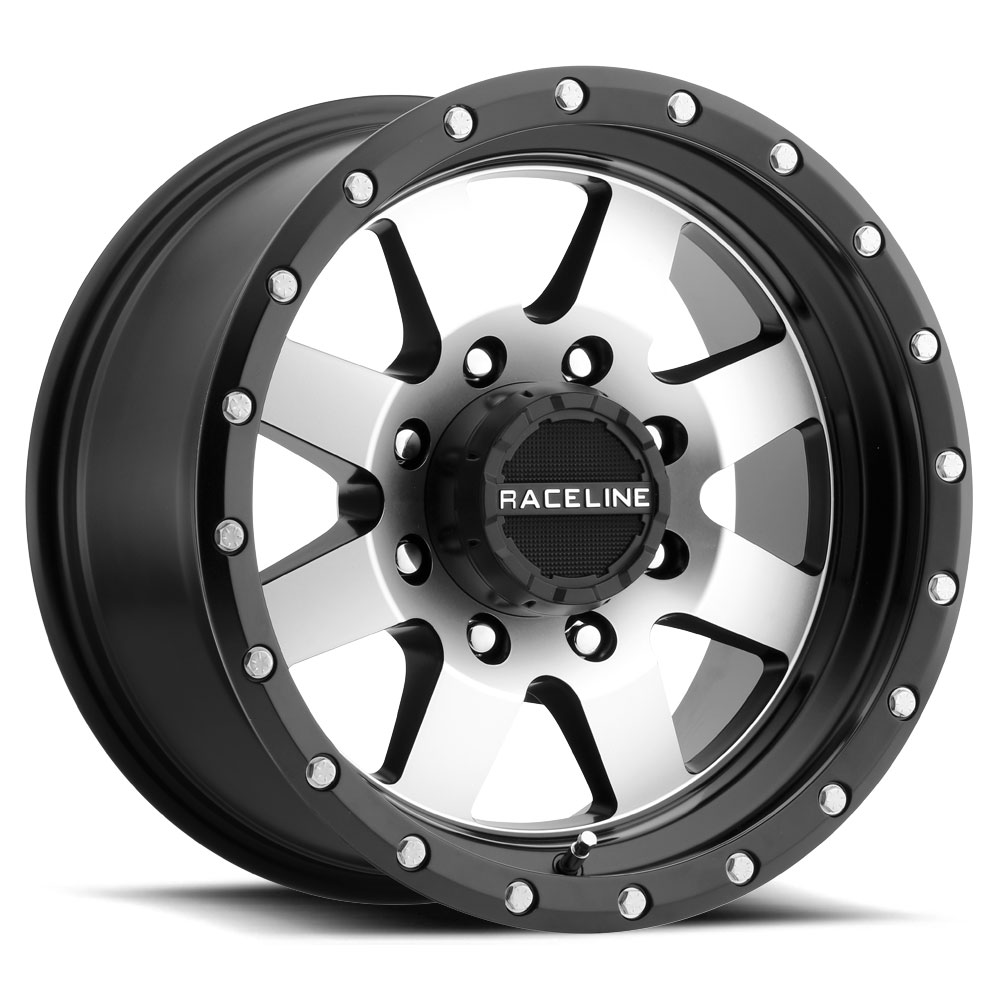 RACELINE DEFENDER BLACK/MACHINED