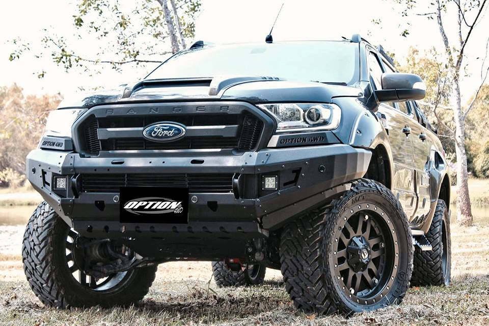 Ford Ranger Front Winch Mount Bumper 2016