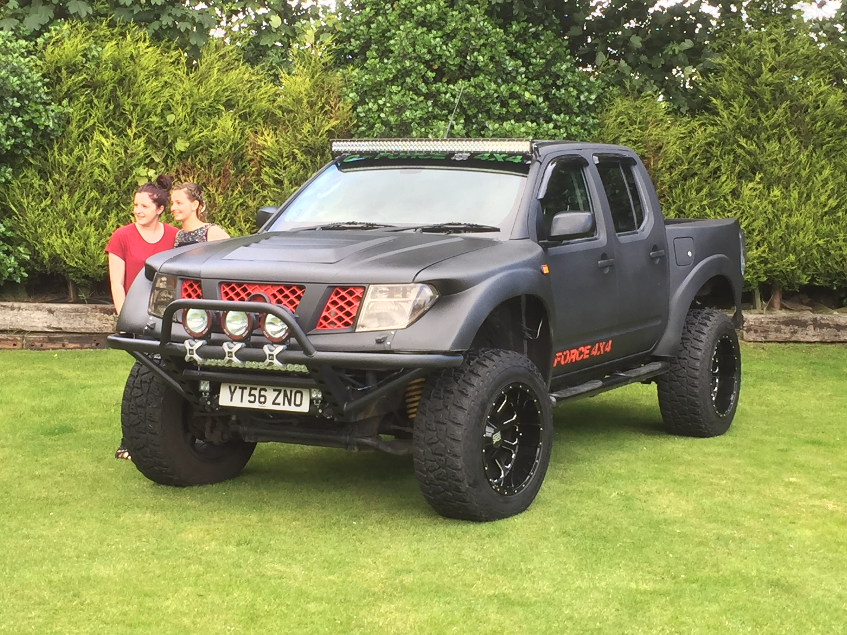 Jeep Grand Cherokee Off Road Bumper >> NISSAN NAVARA PRE RUNNER BODY KIT