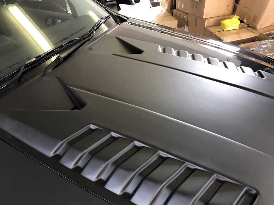 black hood scoop 2012/2015 pre facelift ranger