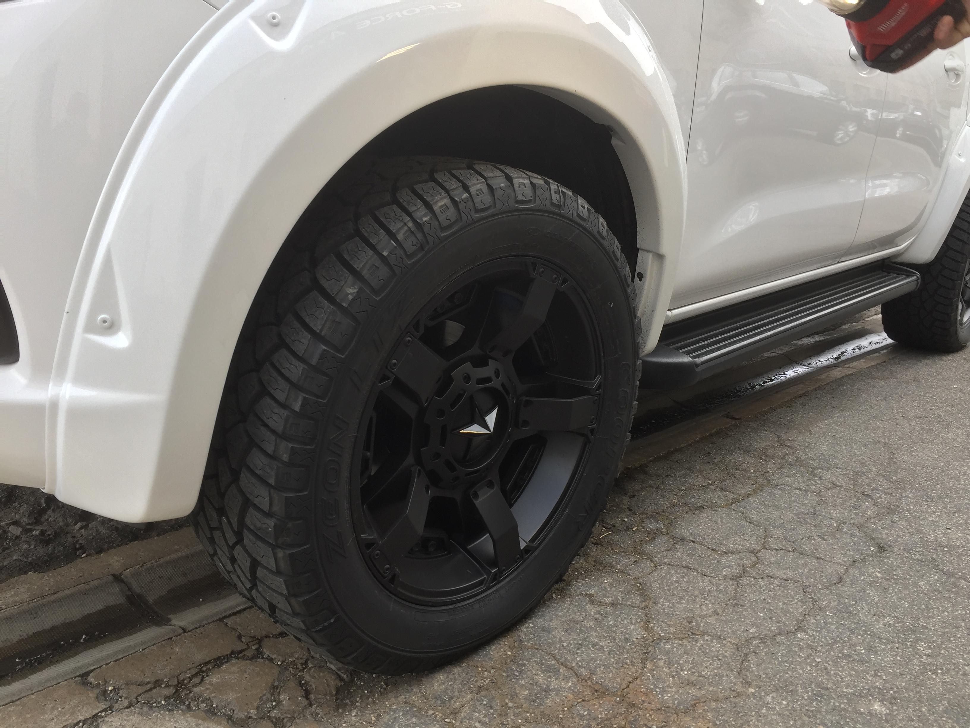 2015 Range Rover Price >> NISSAN NP300 EXTREME FENDER FLARES MATT BLACK