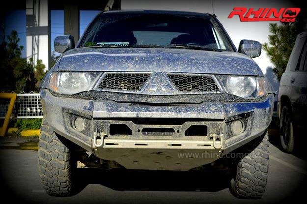Rhino Front Bumper Mitsubishi L200