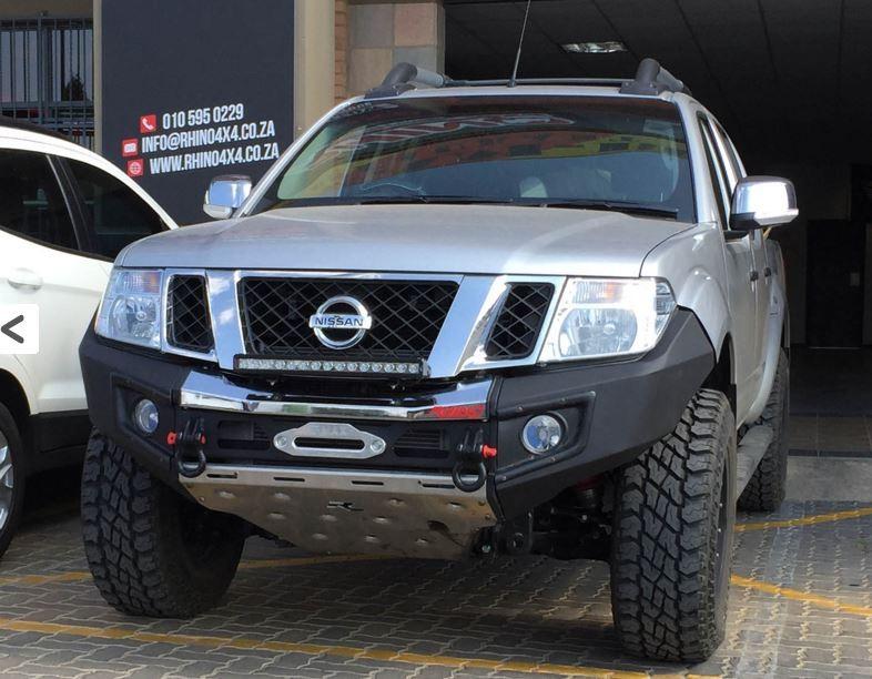 Rhino Front Bumper Nissan D40