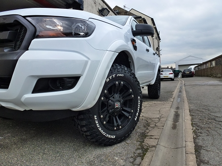WHEEL ARCH KIT FOR DOUBLE CAB FORD RANGER 2016 ON WARDS