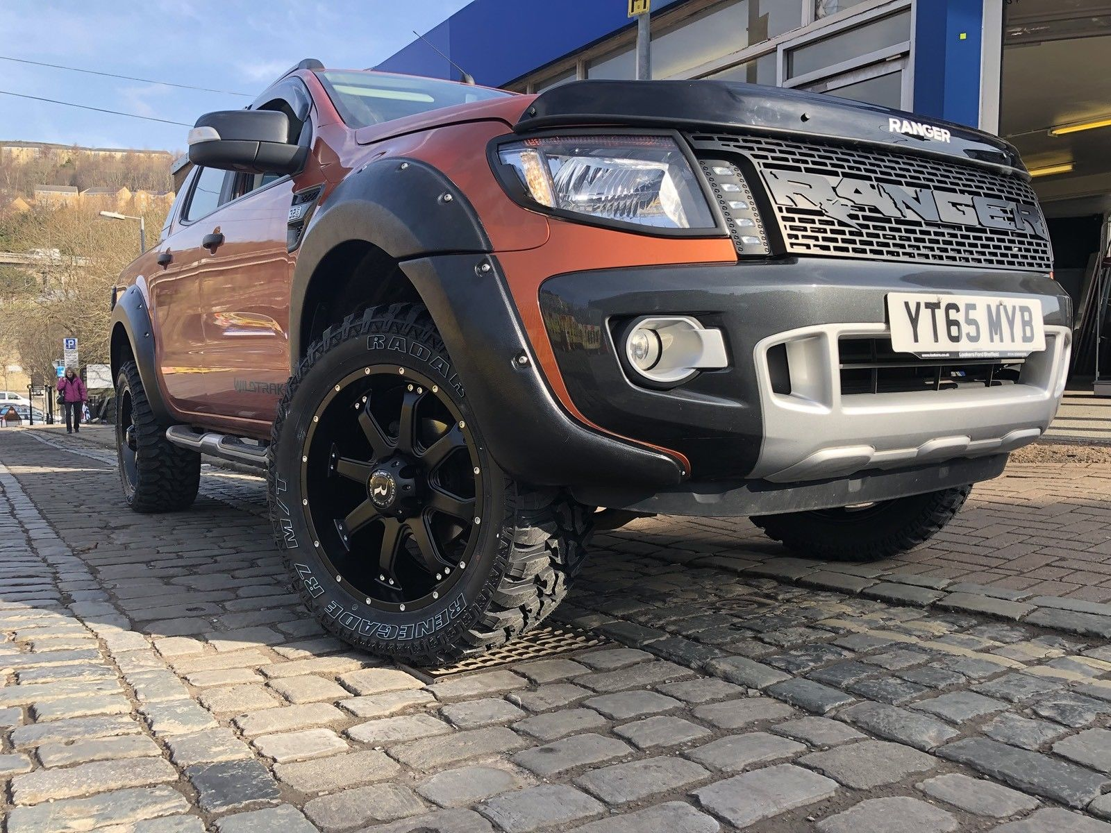 Ford Ranger Full Raptor Body Kit
