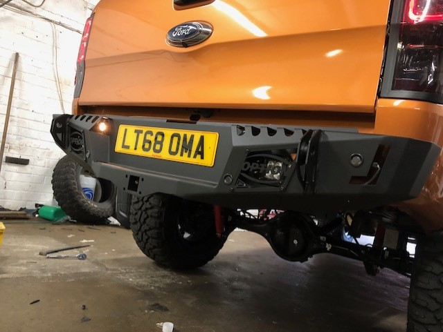 Option 4wd Rear Bumper Ford Ranger