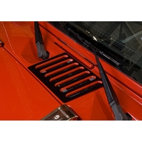 COWL VENT COVER, BLACK, 07-17 JEEP WRANGLER (JK)
