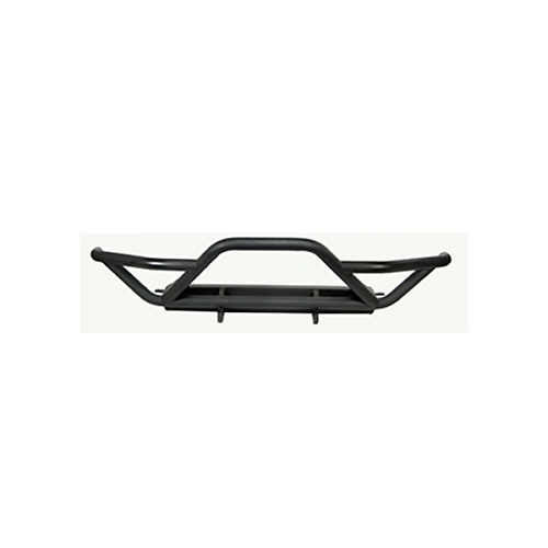 RRC FRONT BUMPER WITH GRILLE GUARD, BLACK, 87-06 JEEP WRANGLER