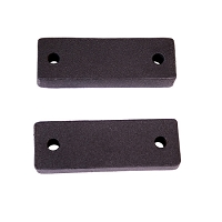 WINCH MOUNTING SPACERS, 07-14 JEEP WRANGLER (JK)