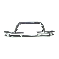 3-In Tube Front Winch Bumper, SS, 76-06 Models