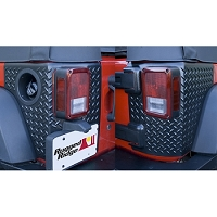 CORNER GUARDS, BODY ARMOR, 07-14 JEEP 2-DOOR WRANGLER (JK)