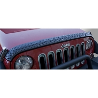 HOOD GUARD, BODY ARMOR, 07-17 JEEP WRANGLER