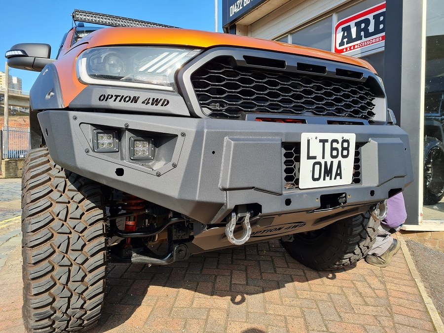 option 4wd v2 bumper ford ranger