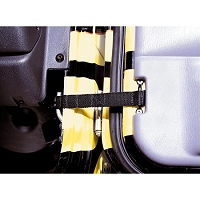 ADJUSTABLE DOOR STRAPS, 55-06 JEEP CJ & WRANGLER