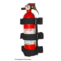 RUGGED RIDGE Sport Bar Fire Extinguisher Holder Blk 55-1 CJ & WRANGLER