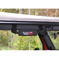 NEOPRENE GRAB HANDLES, BLACK, 55-14 JEEP CJ & WRANGLER