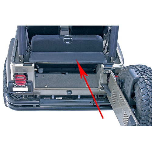 TONNEAU AND REPLACEMENT TAILGATE BAR; 87-06 JEEP WRANGLER YJ/TJ