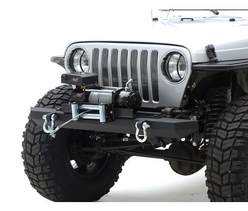 FRONT BUMPER CLASSIC ROCK CRAWLER D-RING MOUNTS - JEEP WRANGLER TJ YJ CJ LJ