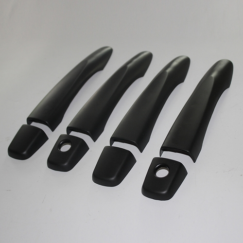 NISSAN NP300 DOOR HANDLE COVERS BLACK
