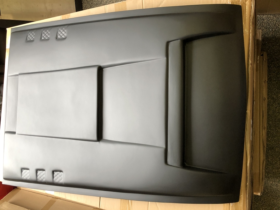 Np300 bonnet scoop black