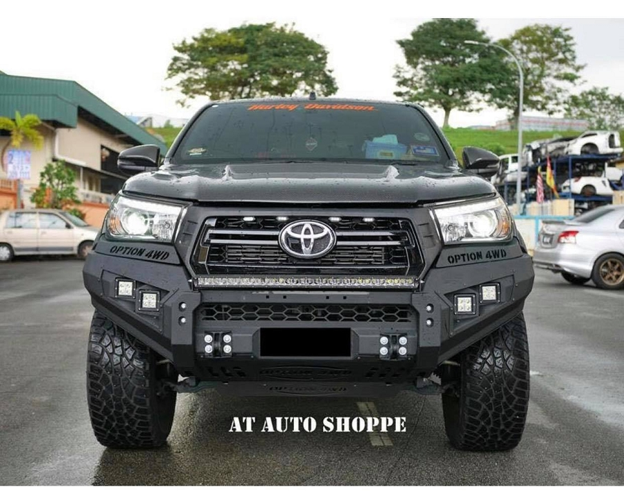 toyota hilux front winch mount bumper 2011 2015
