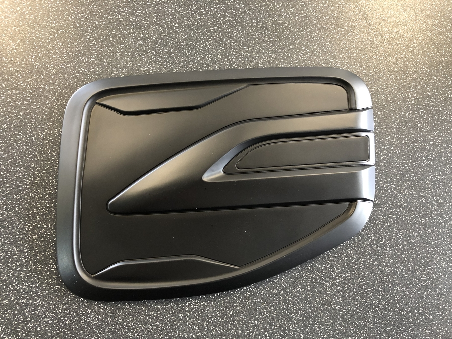 FUEL FLAP COVER BLACK