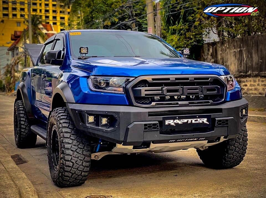 ranger raptor front bumper option 4wd v2