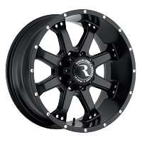 RACELINE ASSAULT BLACK 17x9 pcd 8x165.1	 offset 18 c/bore 125.2 load 1590kg