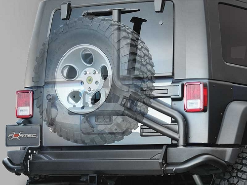 TIRE CARRIER AEV - JEEP WRANGLER JK
