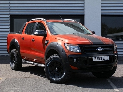 X-TREME WHEEL ARCH KIT IN MATT BLACK FOR THE RANGER 2012/15 DOUBLE CAB