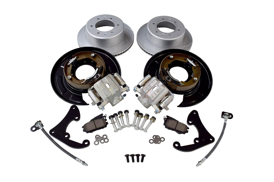 Pedders rear Brake Conversion Kit