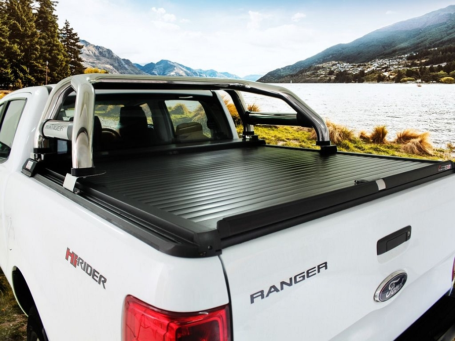 FORD RANGER T6 DOUBLE CAB (2012-CURRENT) LOAD BED COVER - BY SECURI-LID
