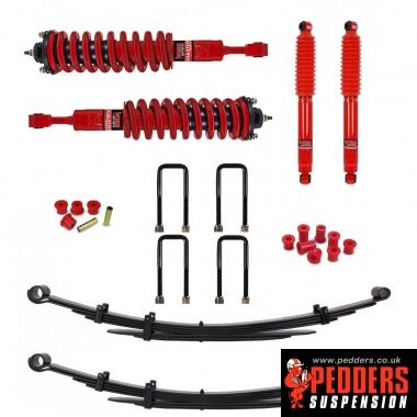 Heavy Duty Load carrying and towing kit. With Assembled struts. For Toyota Hilux Mk6 and 7