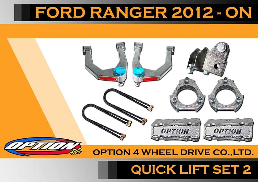 2' ford ranger lift kit